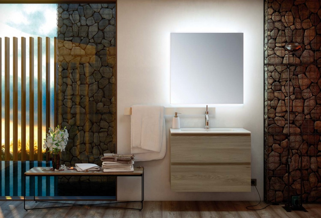 Espejos uniba o for Espejos cuarto de bano modernos