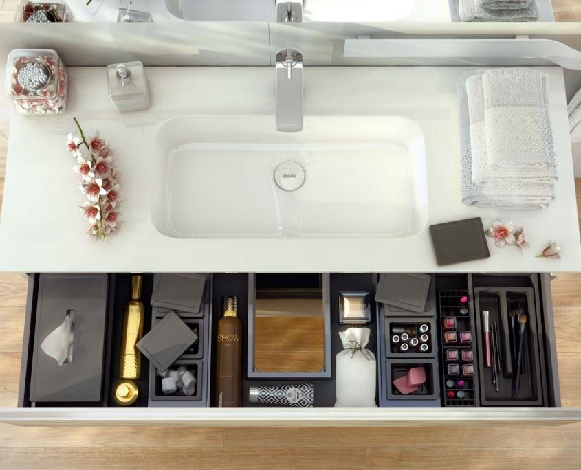 Uniba o muebles de ba o y accesorios - Organizador cajones bano ...