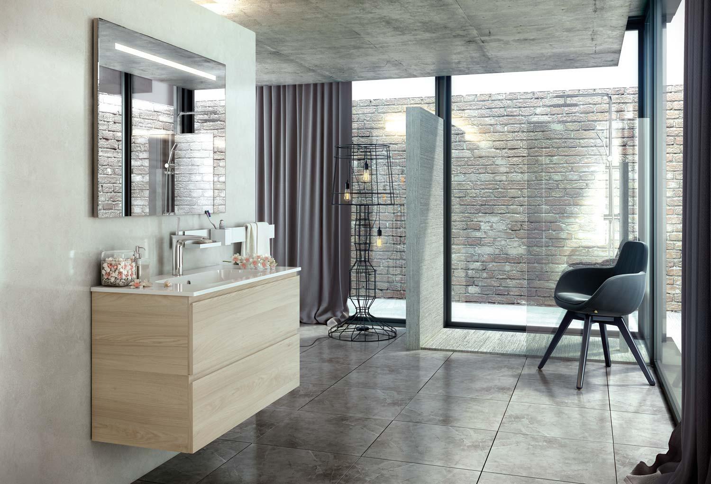 Espejos iluminados con led para el cuarto de ba o - Iluminacion para espejos de bano ...