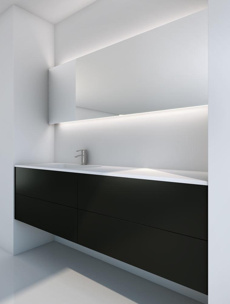 Espejos iluminados con led para el cuarto de ba o - Espejos de habitacion ...