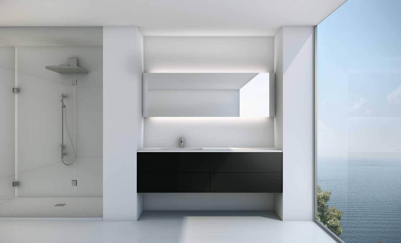 Muebles de ba o - Espejo retroiluminado bano ...