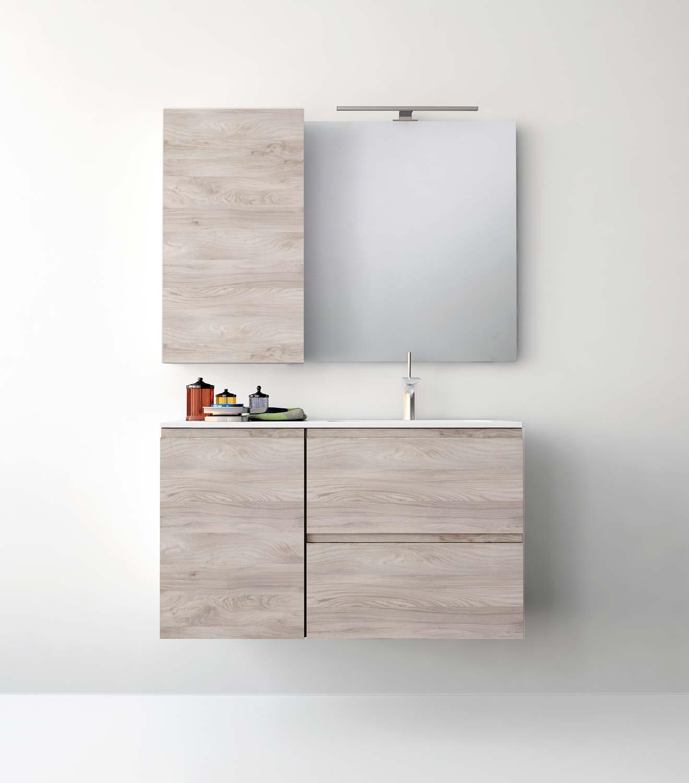 Espejos con apliques para el cuarto de ba o uniba o for Armarios para cuarto de bano