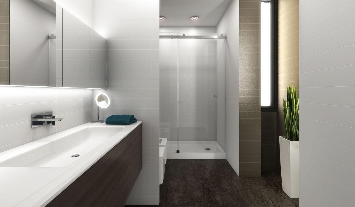 Espejos iluminados con led para el cuarto de ba o for Espejos para banos easy