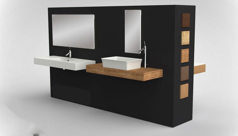 Muebles ba o para lavabos sobre encimera for Muebles para encimeras