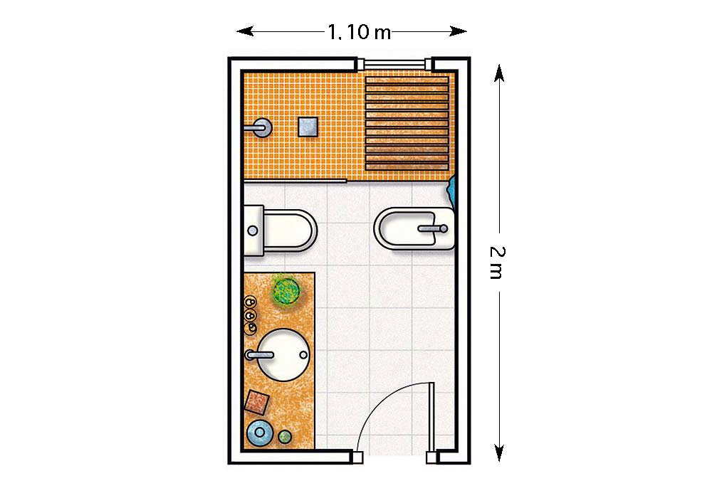 Que Muebles Son Los Mas Practicos Para Los Banos Pequenos Unibano - Baos-practicos