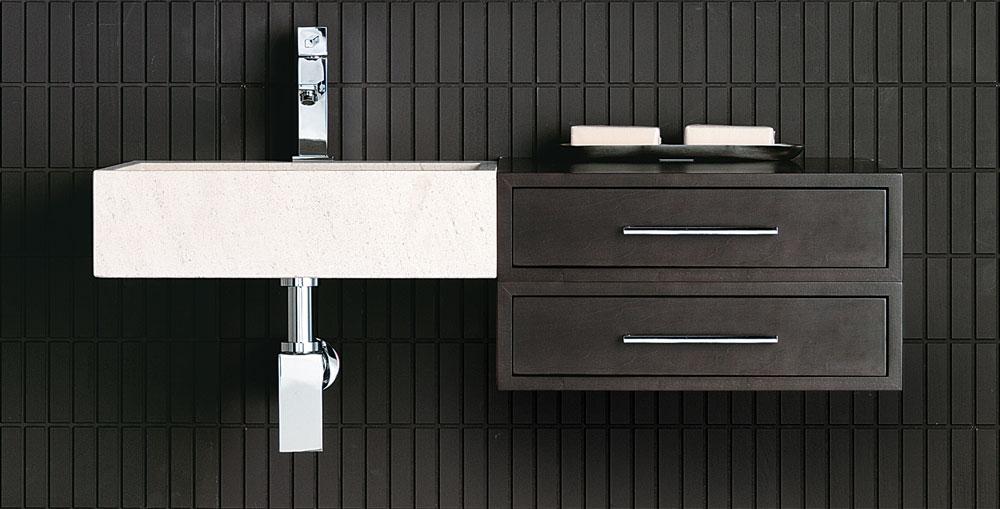 Muebles para aseos pequeos trendy muebles de bao modernos for Banos 2016 pequenos
