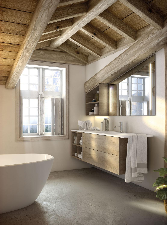 Baños integrados en la suite - UNIBAÑO