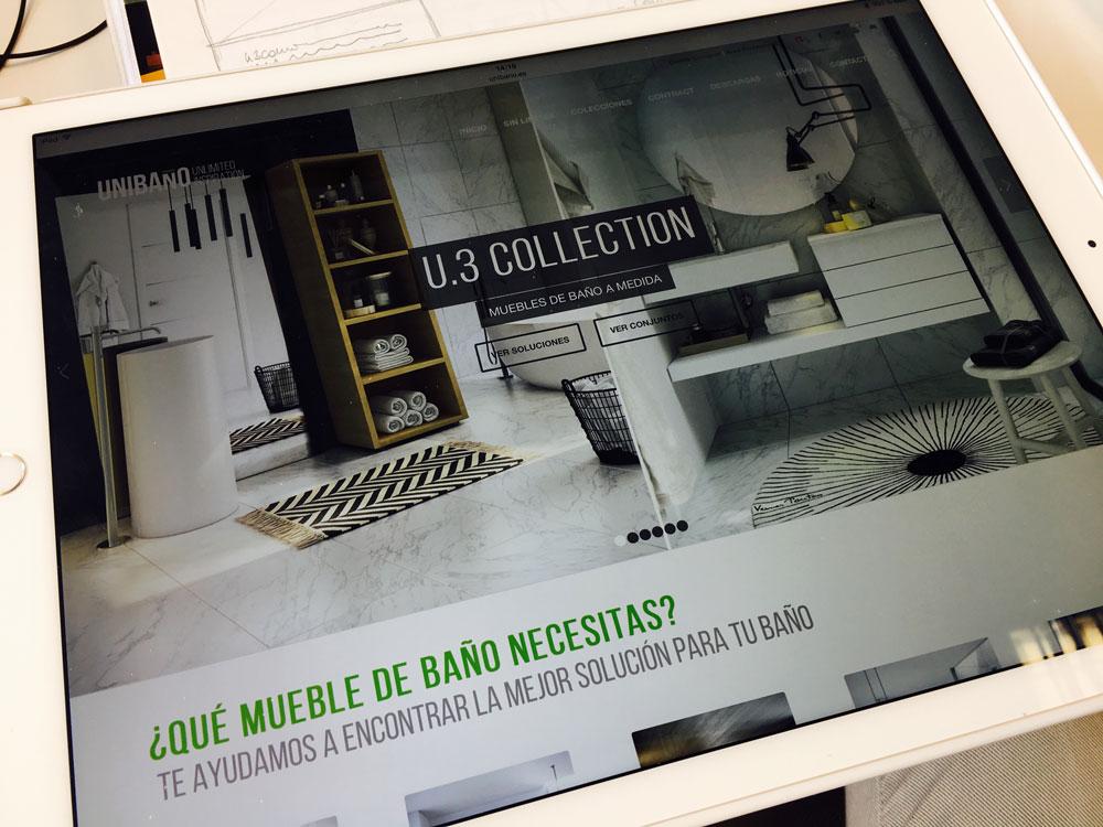 Descubre la U3, muebles de baño personalizados