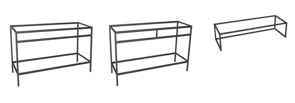 Muebles De Baño Sobre Estructura De Metal Unibaño