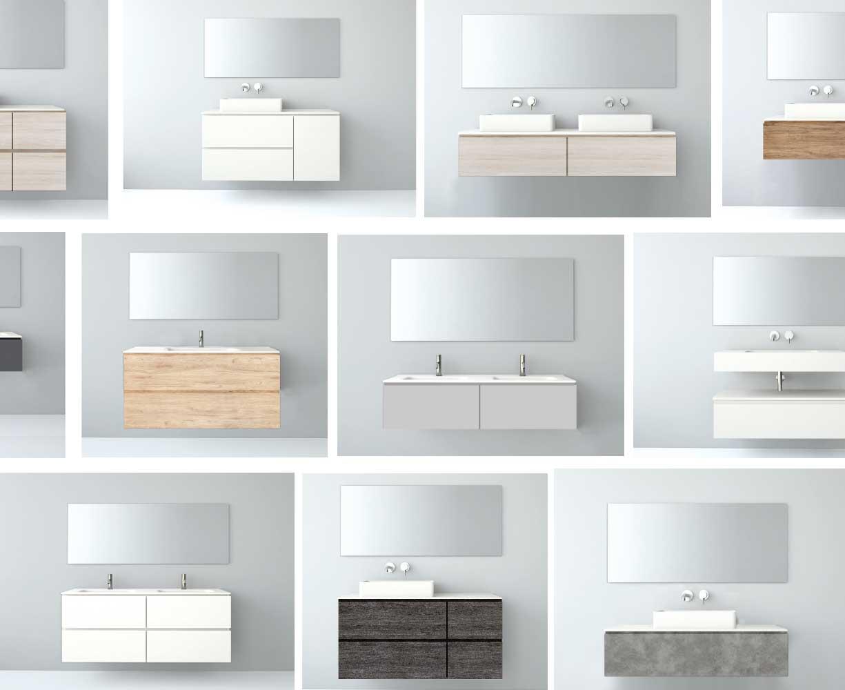 Muebles de ba o modulares uniba o for Muebles el contado